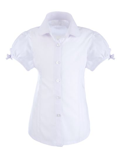 Back to school: Uniform essentials. John Lewis easy-care pintuck blouse #school