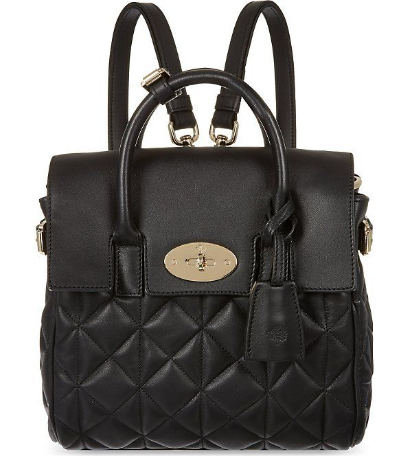 MULBERRY Mini Cara Delevingne bag (Black