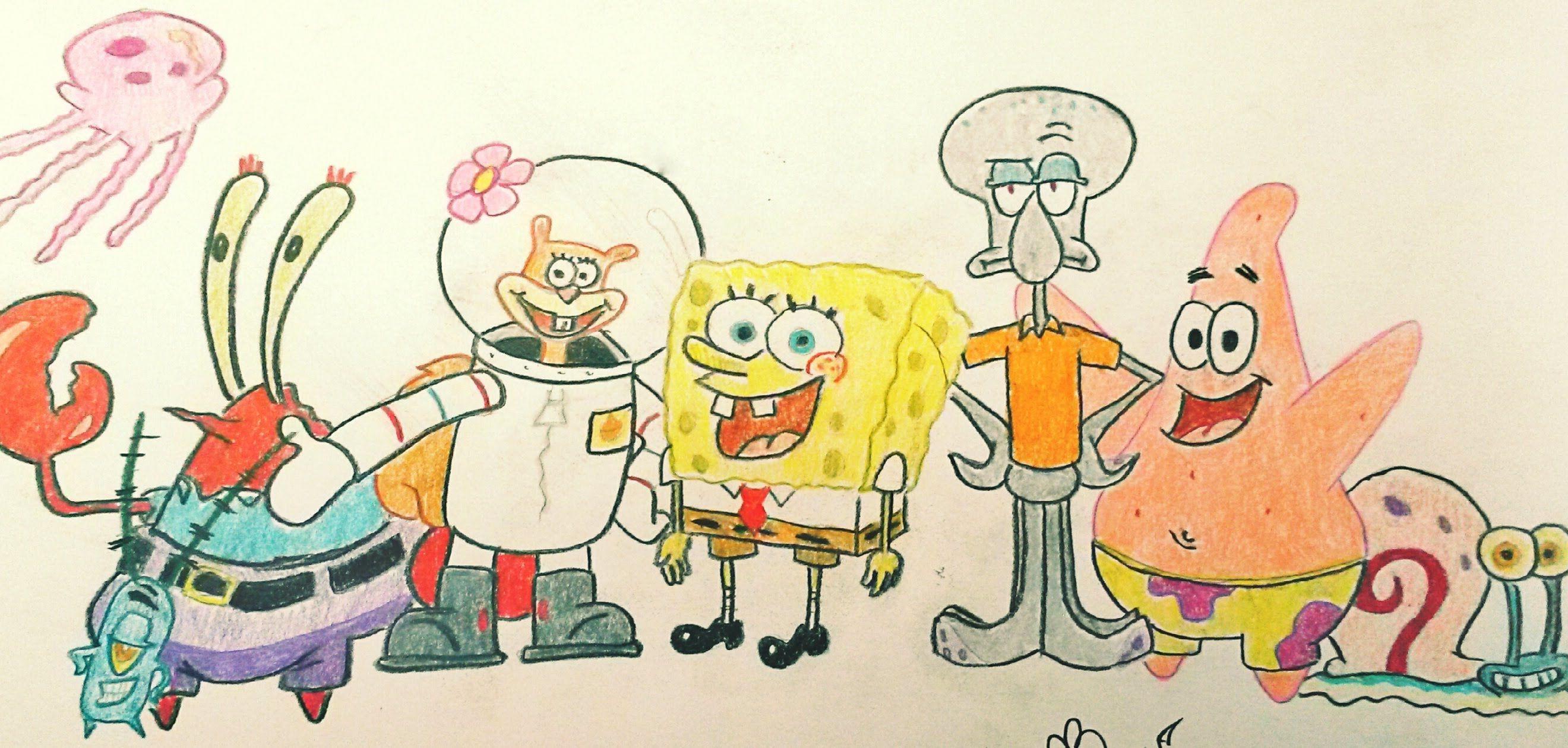 How To Draw Patrick Star Spongebob Drawings Easy Cartoon Drawings Patrick Drawing
