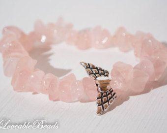 aventurine yoga bracelet chip beads with fairy por LoveableBeads