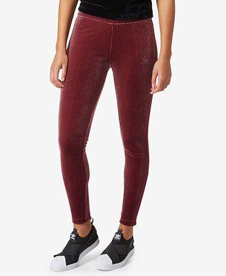 adidas Originals Velvet Vibe Leggings - Pants - Women ...