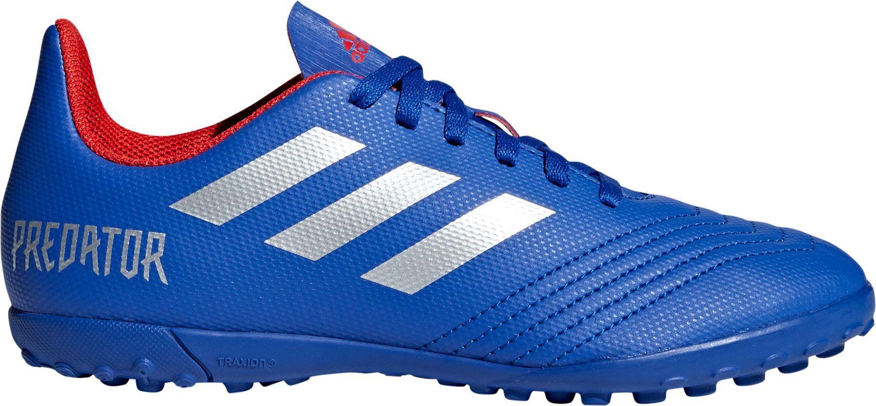 Adidas Predator 19.4 FxG Fußballschuh core black bright cyan