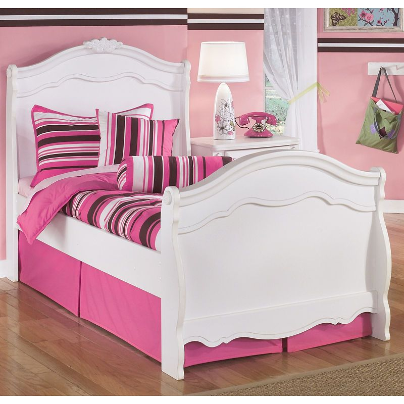 Signature Design By Ashley Exquisite Twin Sleigh Bed Products In 2019 Twin Sleigh Bed Sleigh Beds Kid Beds