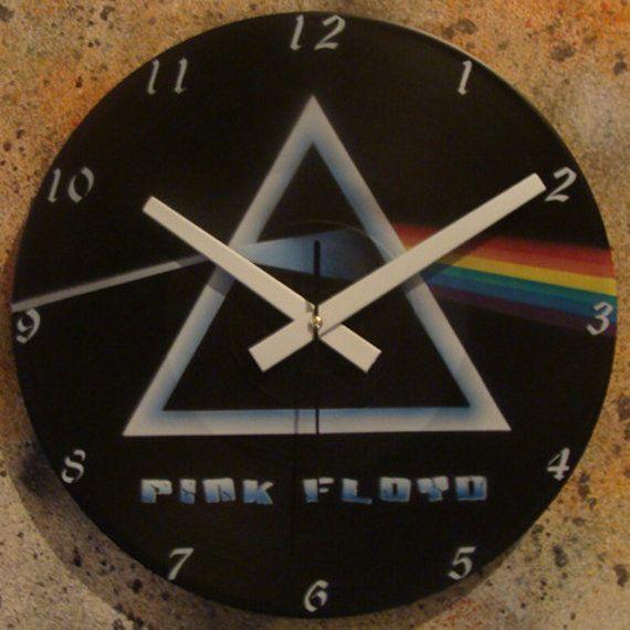 Pink Floyd - Model 2 - Wall Clock LP Record Vinyl Graffiti