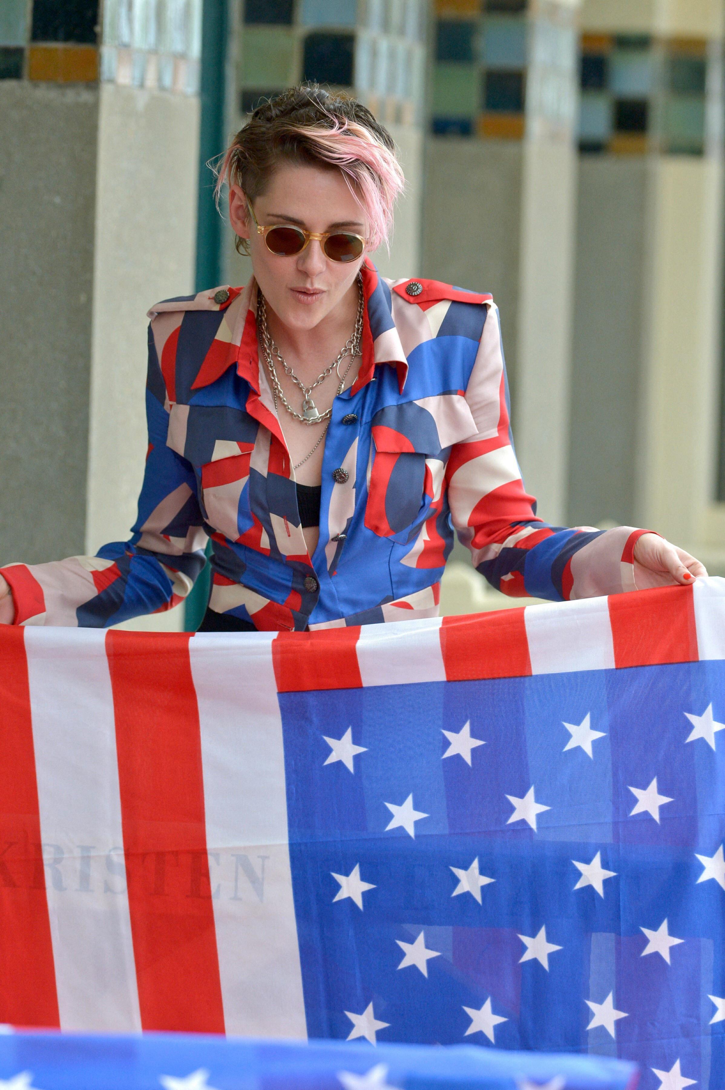 Beautiful Kristen stewart, American film festival