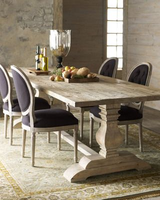 Handsome Natural Dining Set From Horchow Gayle Robertson Roberts Merry Homes And Gardens