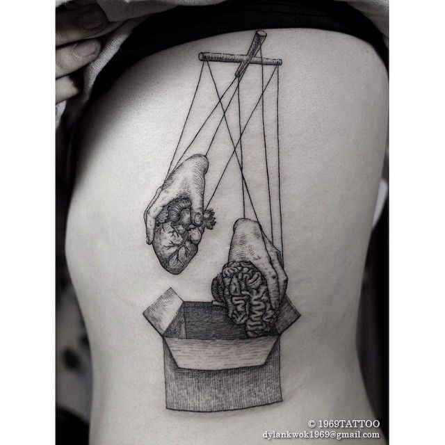 壹玖陆玖 Instagram: @1969tattoo