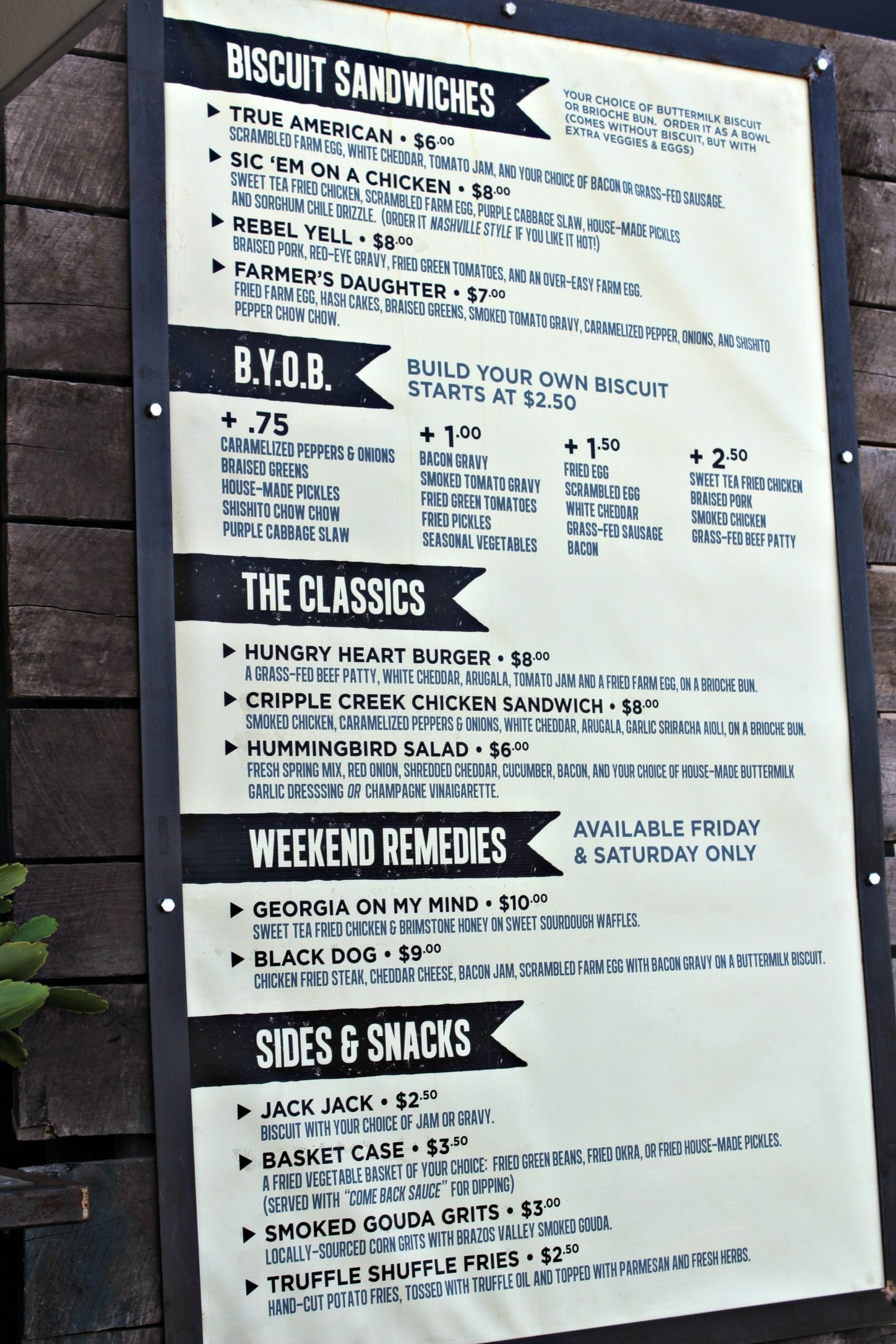 Magnolia market milo food truck menu food truck menu