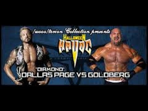 Wrestling Revolution 3D: Goldberg vs. DDP (WCW Halloween Havoc ...