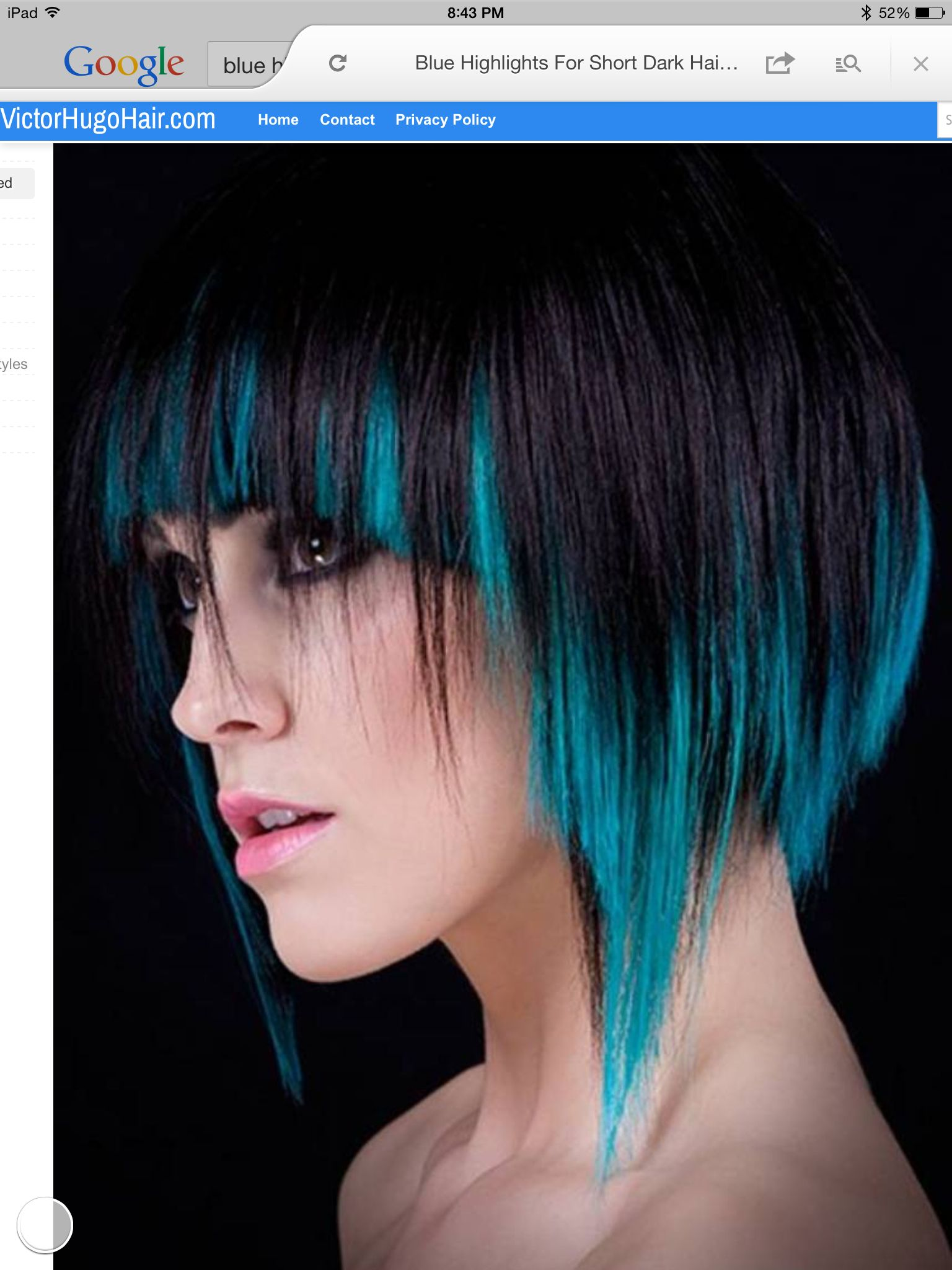 The color hair pinterest