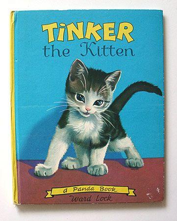 Tinker The Kitten Cover Childrens Books Illustrations Cat Books Animal Books