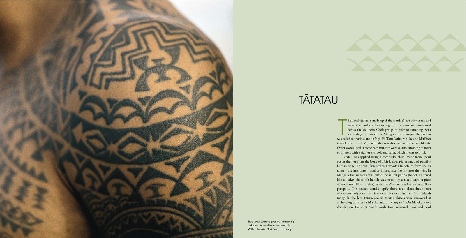 Patterns of the past tattoo revival in the cook islands for Revival tattoo and piercing
