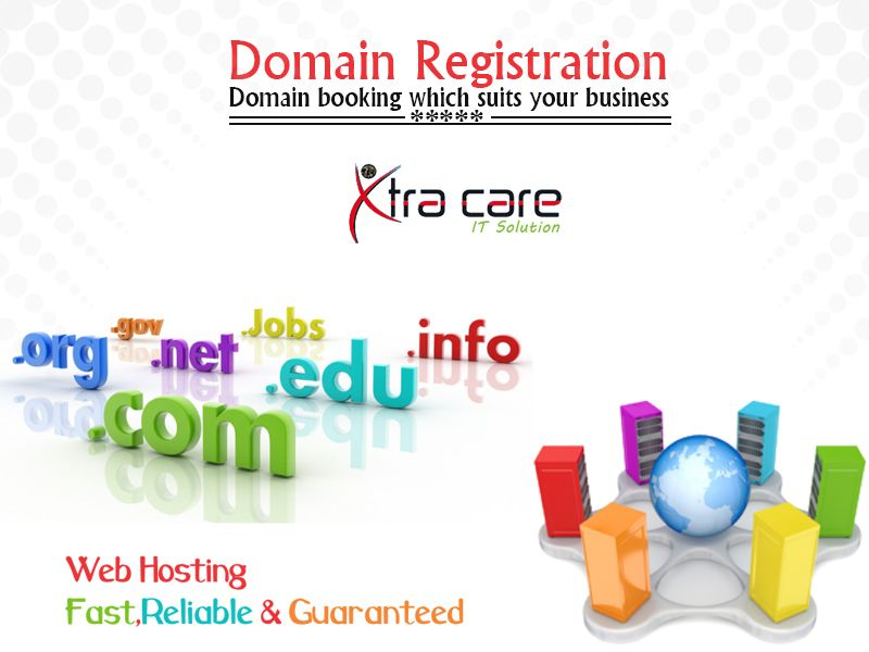 Xtracaredomain Com Offers Easy Online Domain Registration In India Search And Register Domain Names Online Best Doma Job Info Business Solutions Solutions