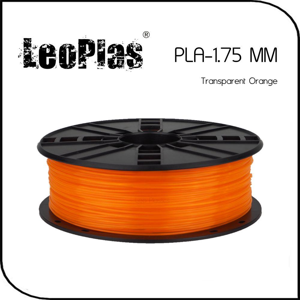 28.7US $ 30% OFF|LeoPlas 1kg 1.75mm Transparent Translucent Clear Orange PLA Filament For 3D Printer Consumable Printing Supply Plastic Material|printer leads|printer modelprinter port usb adapter - AliExpress