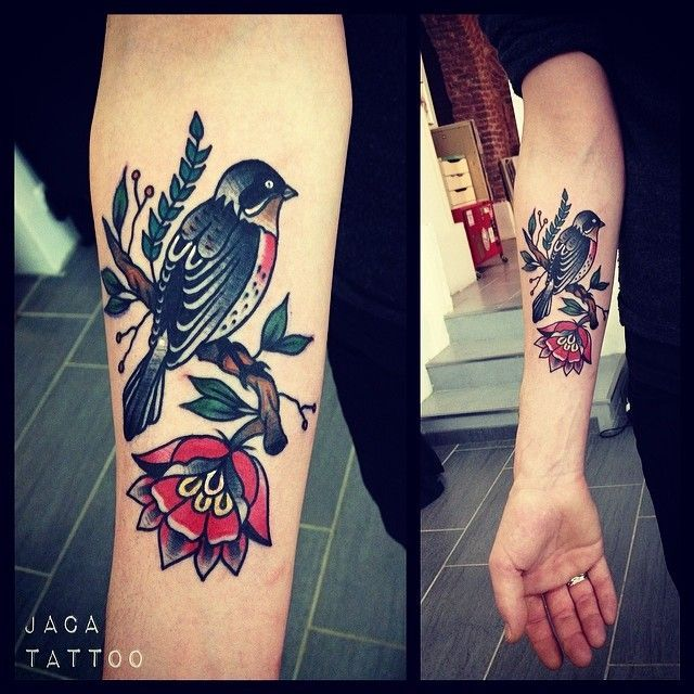 Image Result For Robin Tattoo Traditional Robin Tattoo Traditional Tattoo Sleeve Traditional Tattoo