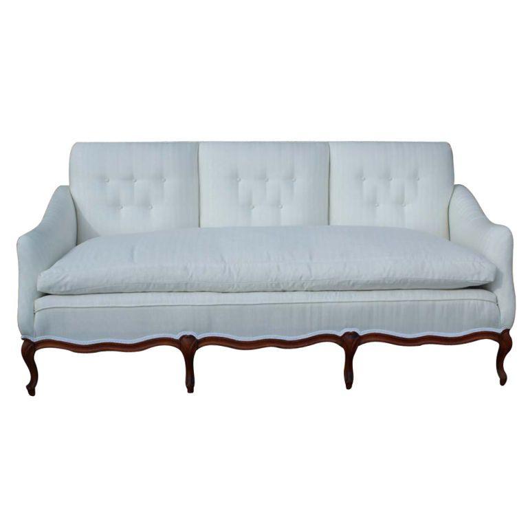 French Country Custom Made Sofa