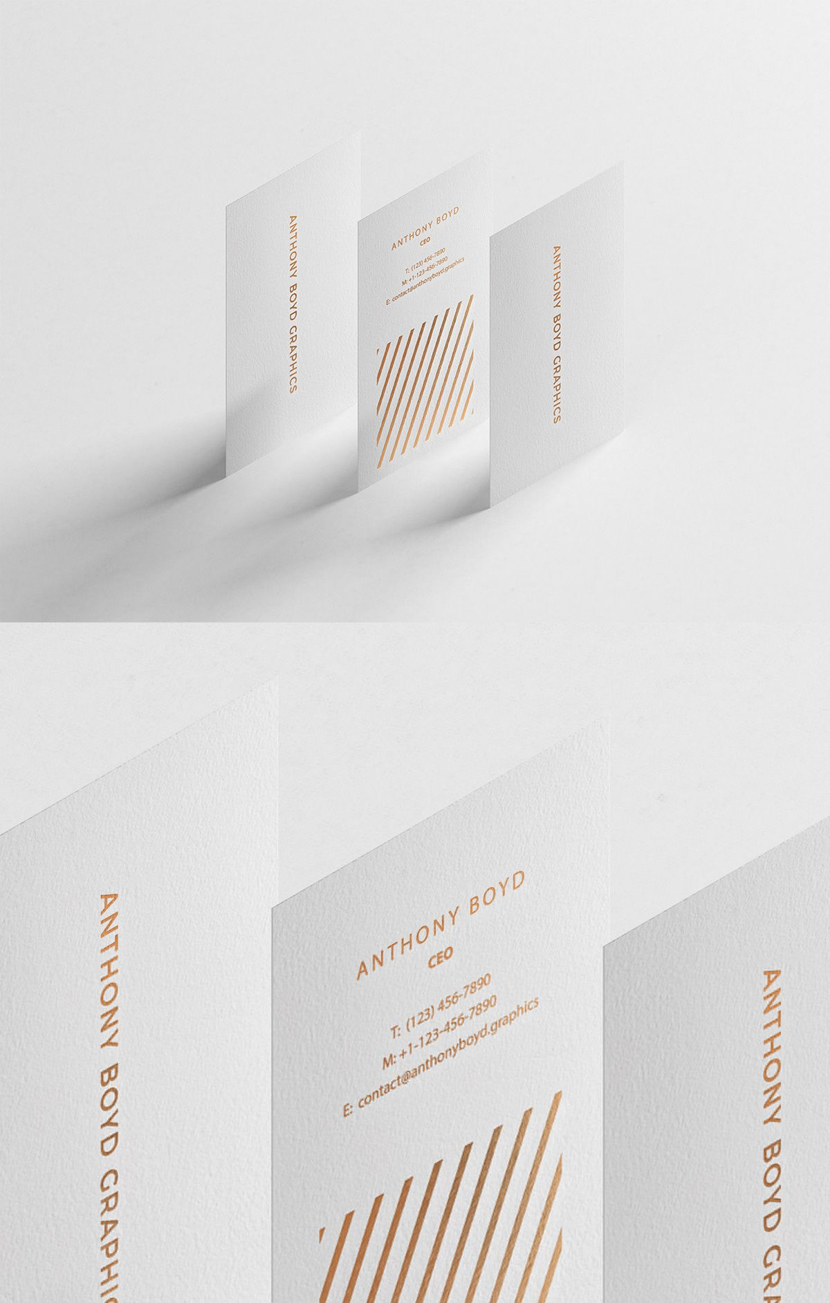 Free Modern Vertical Business Card Mockup Business Card Mock Up Vertical Business Cards Vertical Business Card Design