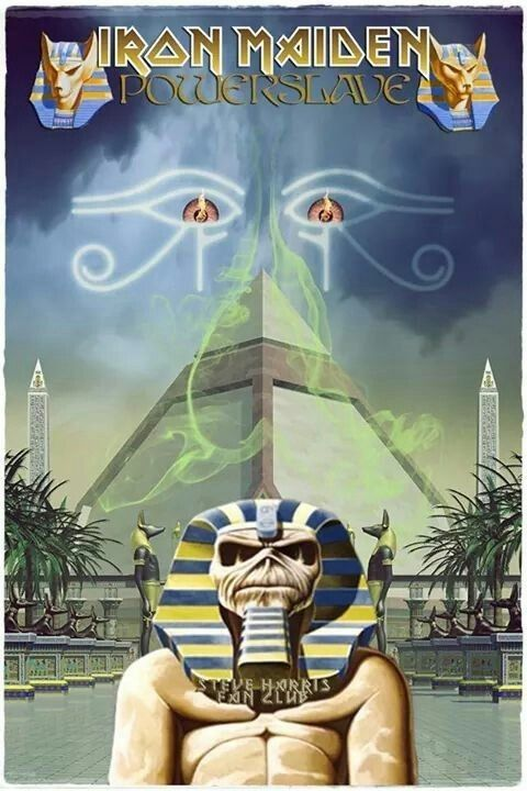 Seventh Son Of A Seventh Son Giclee Canvas Album Cover Picture Art Iron Maiden