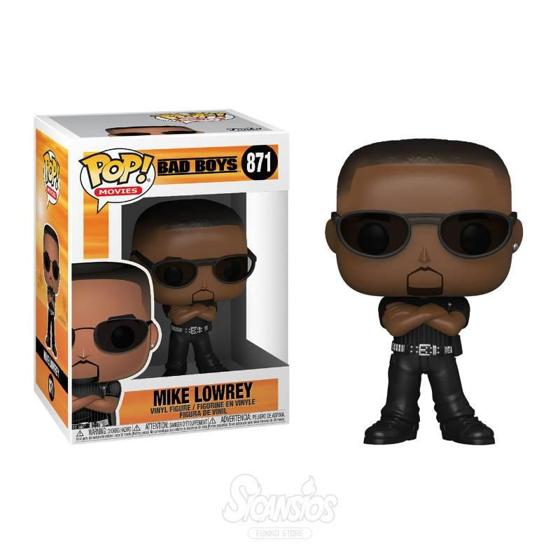 Figura Funko Pop De Mike Lowrey Will Smith De La Pelicula Dos Policias Rebeldes Bad Boys Whatcha Gonna Do Funkopop Bad Boys Funko Funko Pop