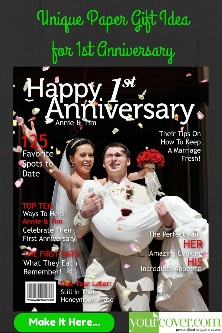 Make a personalized magazine cover featuring your photo & custom ...