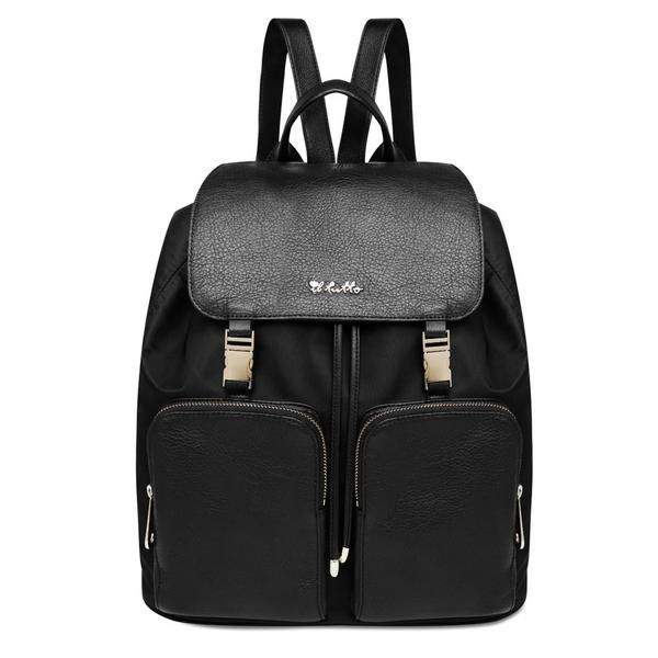 Il Tutto Susanna Leather Backpack Nappy Bag Black Nappy Bag Backpack Leather Backpack Nappy Bag