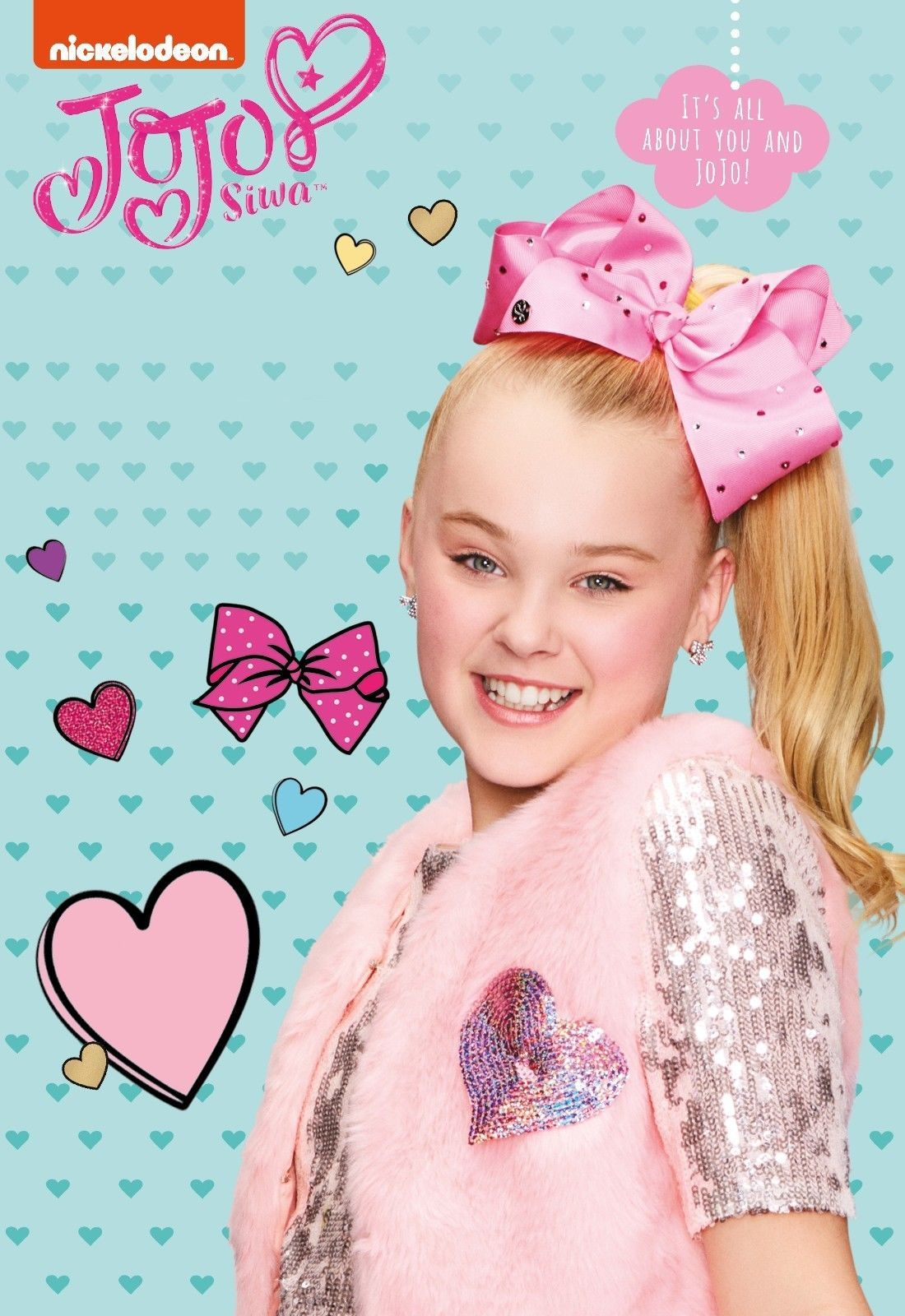 013be3be $9.99 - Jojo Siwa My World Poster Kids Music Star Tv Show Art Print 13X20