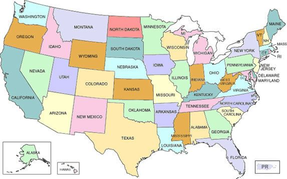 United States Of America Cc Cycle Pinterest Geography And - Map of usa with cities