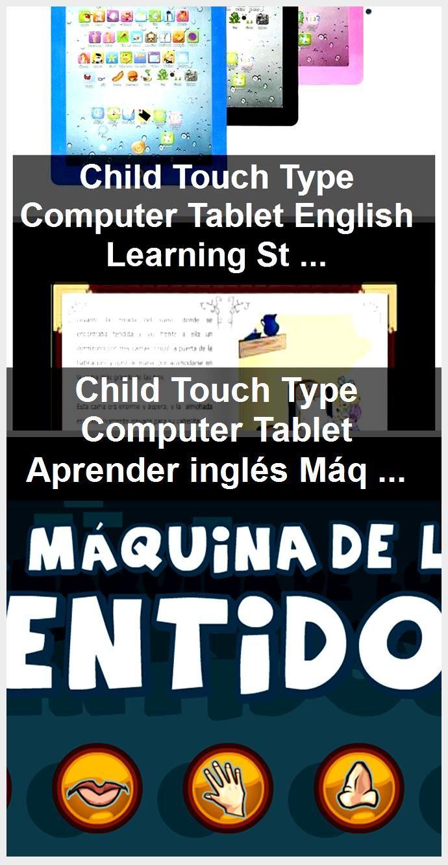 Niño Touch Tipo Computadora Tableta Aprender Inglés