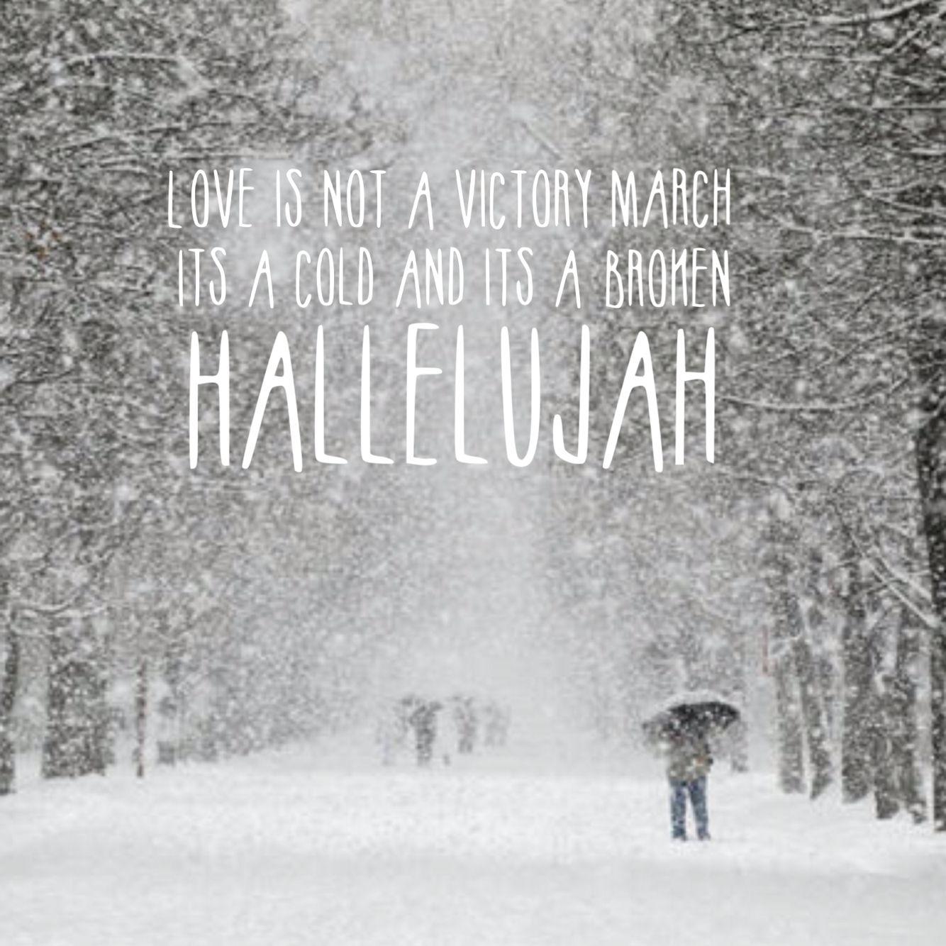 Hallelujah -Jeff Buckley | Hallelujah lyrics, Music quotes, Christmas lyrics