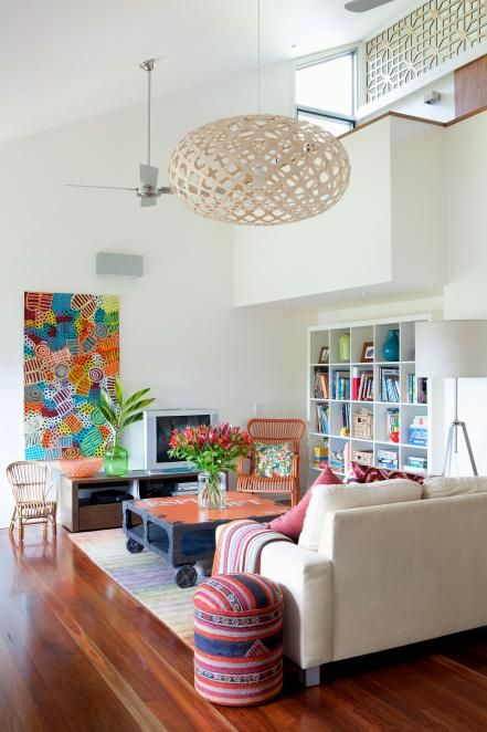 Infuse Pared Down Modern Spaces With A Bold New Personality By