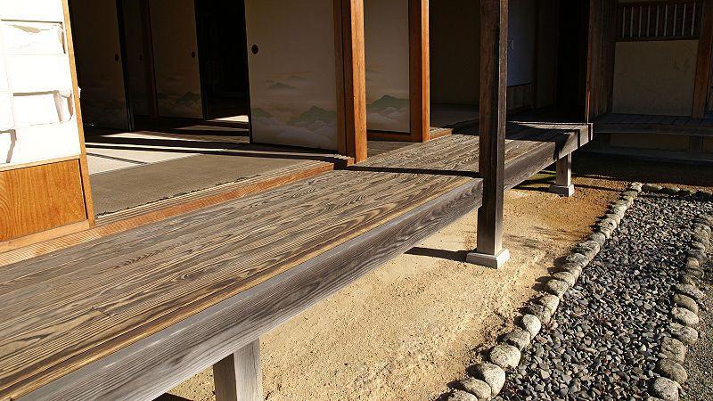 Engawa Wikipedia Modern Japanese Architecture Japanese House