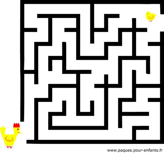 Jeu de labyrinthe difficile jeux de vacances imprimer - Labyrinthe a imprimer ...