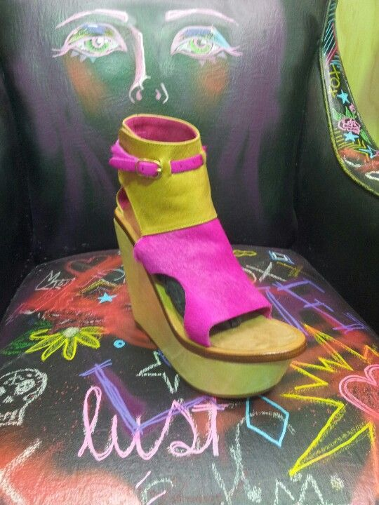 Kirrily Johnston shoe love @ lonsdale St traders