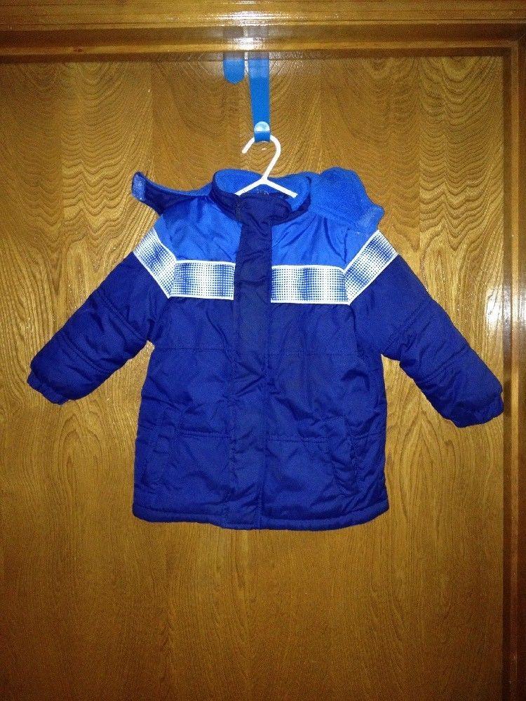 81070e221e5f Toddler Boys 2t Xtreme Cold Weather Puff Blue Snow Winter Jacket EUC ...