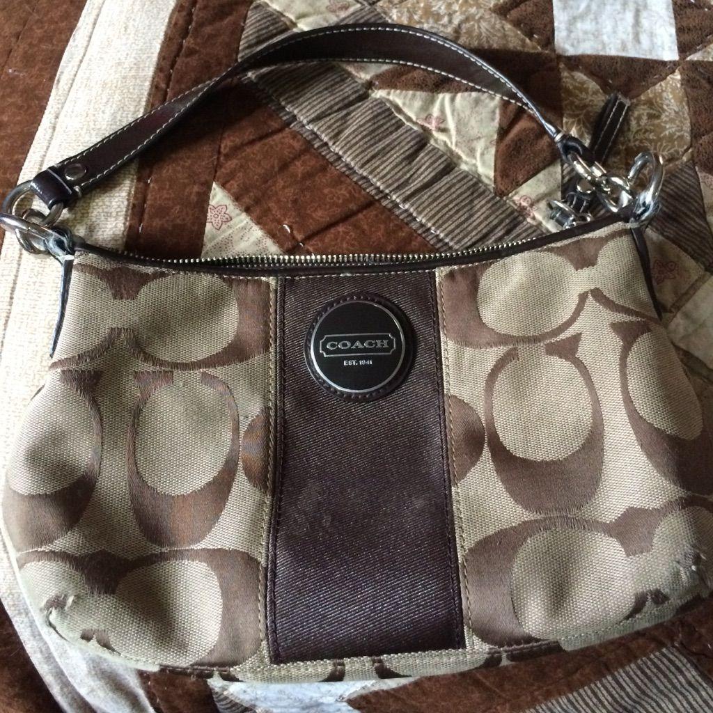 89df08410e discount code for small brown coach purse bb40d 93829