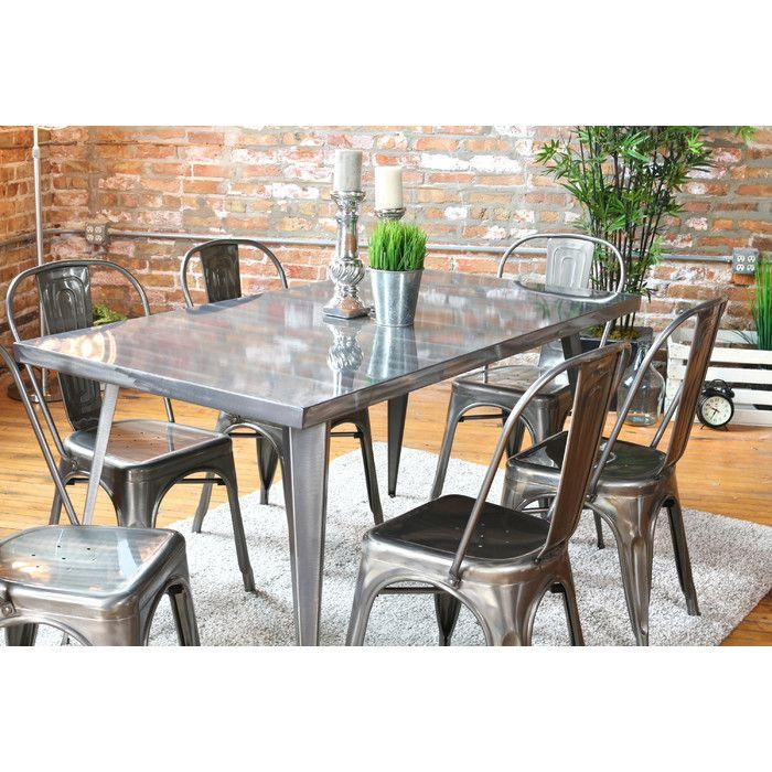LumiSource Austin Dining Table Reviews Wayfair Office Table - Farm table austin