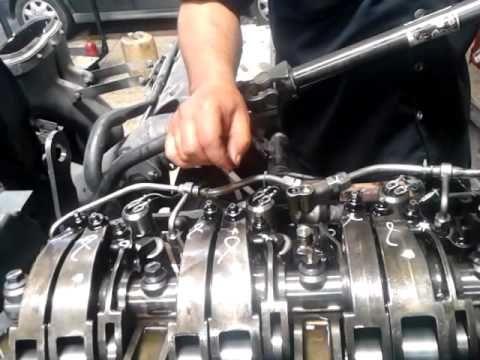 Calibracion De Las Valvulas Del Iveco Stralis 420 Motor F3b Cursor