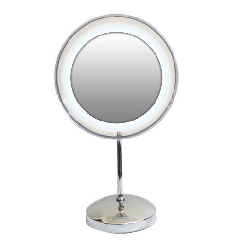 Rucci Acrylic Ring Lighted Mirror 10x Click On The Image For Additional Details Ring Light Mirror Mirror With Lights Mirror