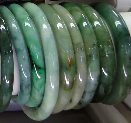 Most Expensive Jade Jewelry Photo Green Color Jadeite Myanmar Imperial