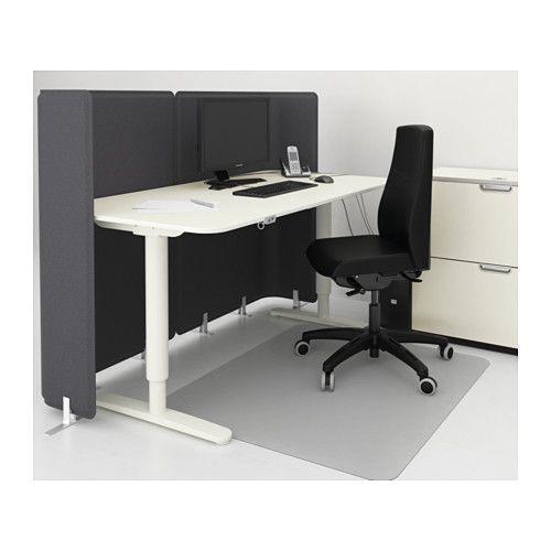 Bekant Reception Desk Sit Stand White 63x31 1 2 47 1 4 Ikea In 2020 White Reception Desk Reception Desk Desk