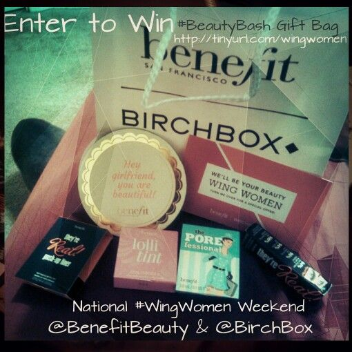 Enter to win the National #WingWomen #BeautyBash Gift Bag Now Open and will run till 9/28/14 at 5 AM CST US only 18 years your older. Click here http://http://tinyurl.com/wingwomen
