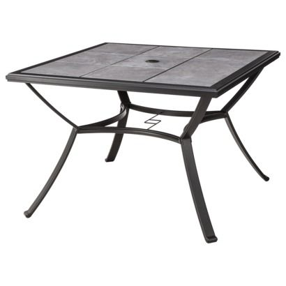 Threshold™ Harriet Square Patio Dining Table At Target 197.10