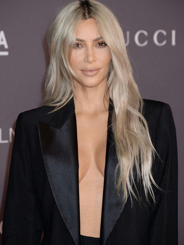Pinterest Deborahpraha Kim Kardashian Platinum Blonde Hair Color Platinum Blonde Hair Platinum Blonde Hair Color Side Bangs With Long Hair