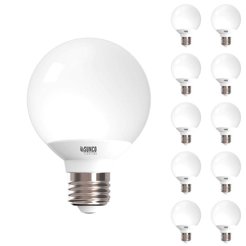 Light The Way To A Better Makeup Routine With These Brilliant Bulbs Vanity Light Bulbs Bulb Bathroom Light Bulbs