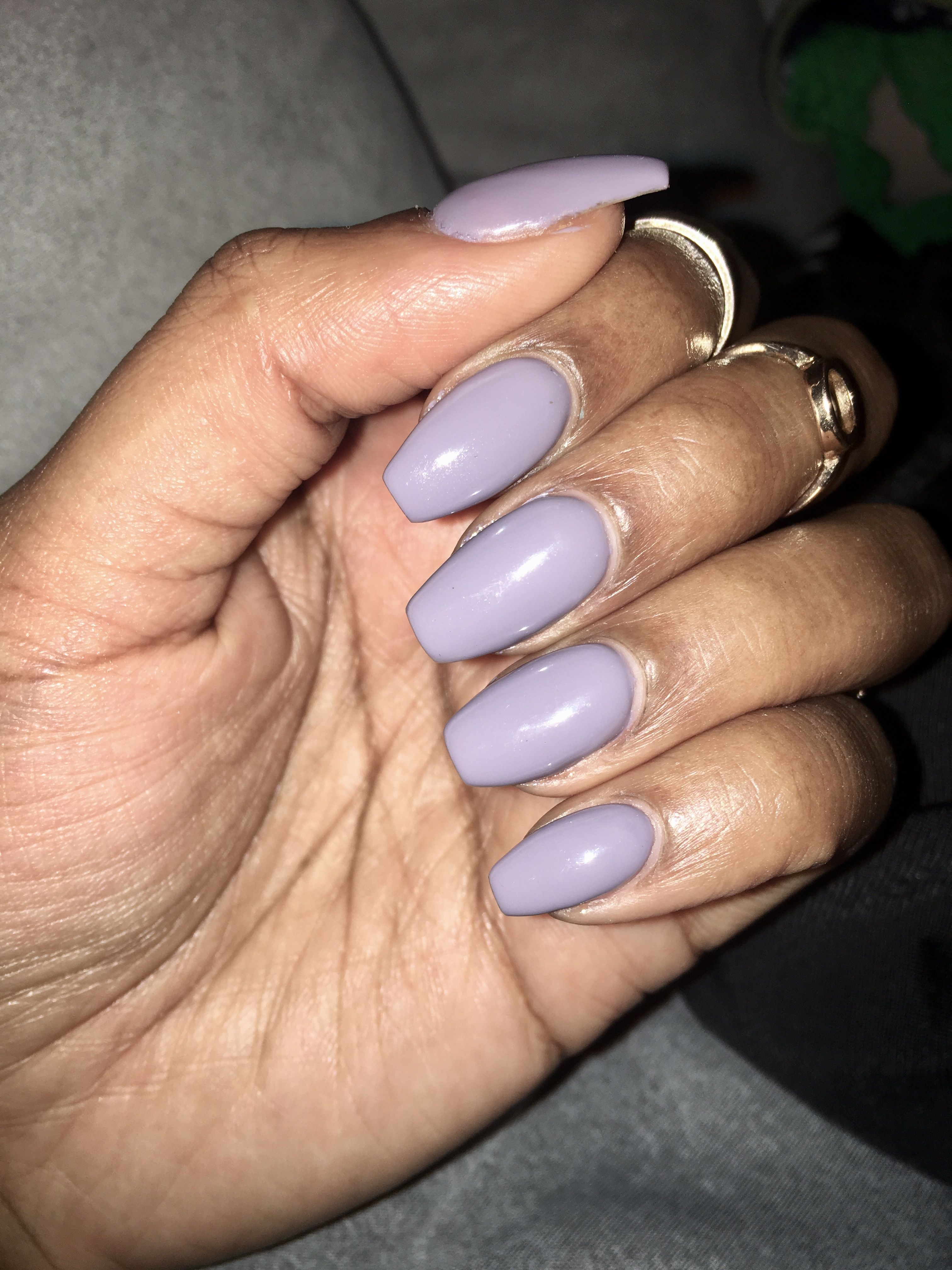 Grey and lavender nails Lavender nails, How to do nails