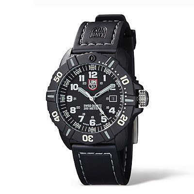 Luminox Coronado Navy Seal Watch - Black/Red - Frontgate