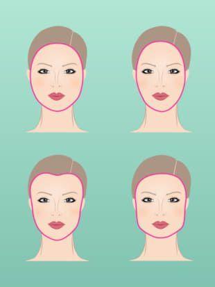 Dieser Scheitel Passt Zu Deiner Gesichtsform Beauty Hair Styles