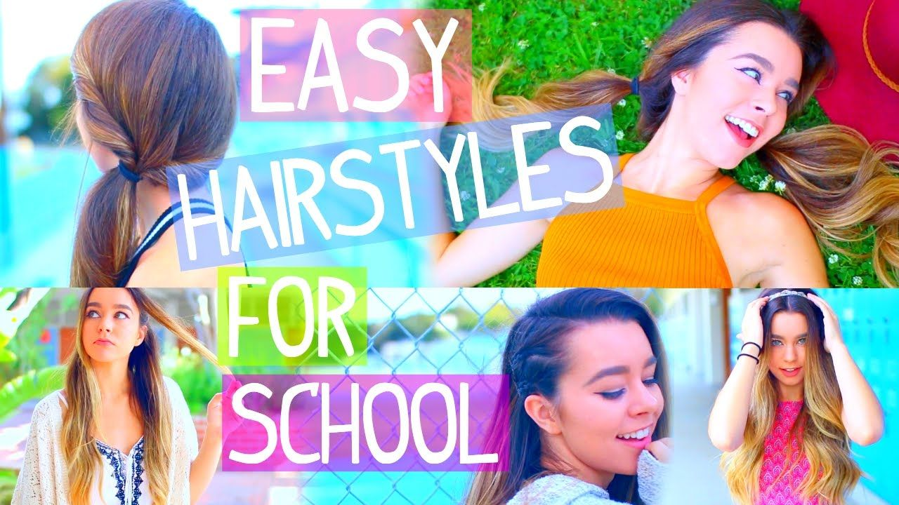 insanely easy back to school hairstyles outfits peinados