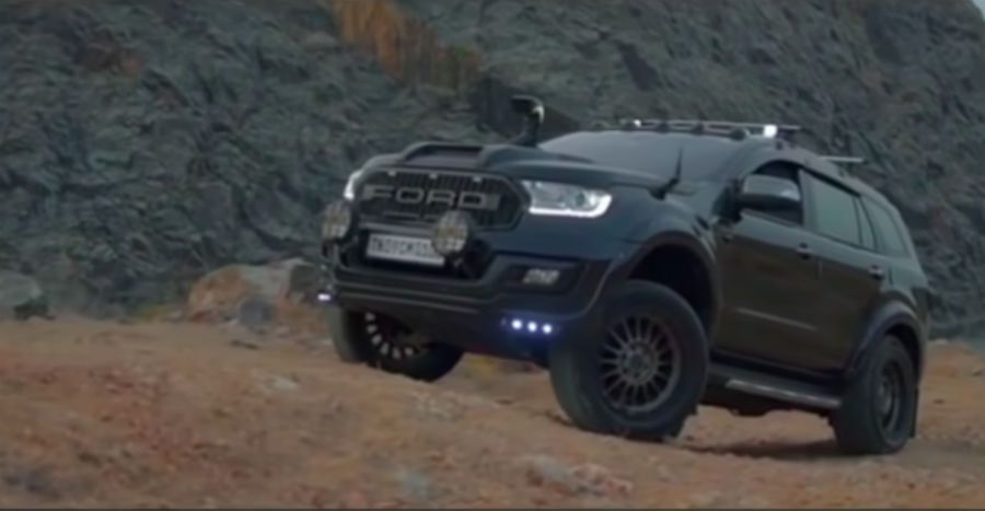 This Modified Ford Endeavour Suv Is Pure Muscle With Images