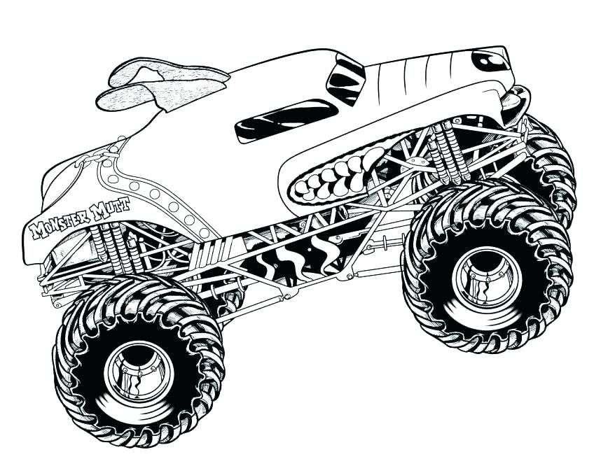16+ Printable pickup truck coloring pages ideas